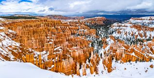 Free Bryce Canyon In Winter Royalty Free Stock Photos - 164321488