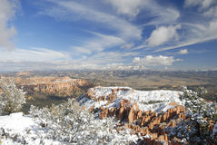 Free Bryce Canyon In Winter From Inspiration Point Royalty Free Stock Image - 7367626