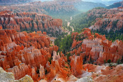 Bryce Canyon - Inspiration Point Royalty Free Stock Images