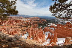 Bryce Canyon:  Inspiration Point Royalty Free Stock Image