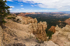 Bryce Canyon Landscape-Überblick lizenzfreie stockfotos