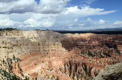 Bryce canyon landscape, USA. Bryce canyon landscape, scenic view of amphiteater, Utah, USA Stock Images