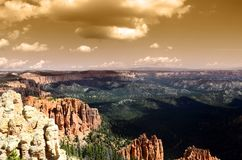 Bryce canyon landscape, USA Royalty Free Stock Image
