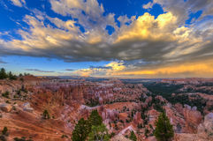 Bryce Canyon Landscape Stock Photo