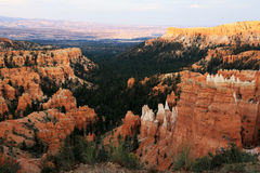 Bryce Canyon landscape at sunset Stock Image