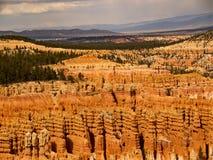 Bryce Canyon Layers de la erosión Imagen de archivo libre de regalías