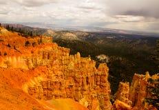 Bryce Canyon Layers de la mala sombra; s Fotos de archivo