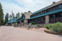 Bryce Canyon Lodge stock afbeeldingen
