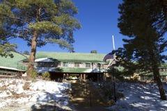Bryce Canyon Lodge foto de archivo