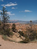Bryce Canyon. Looking down through Bryce Canyon, Utah towards Grand Escalante Stock Photos