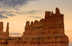 Bryce Canyon moon Stock Photos