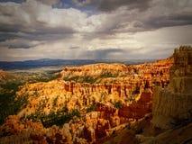 Bryce Canyon Morning av härlighet Fotografering för Bildbyråer