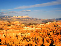 Bryce canyon in the morning light (USA). General view of Bryce canyon in the morning light. This National Park is located in southwestern Utah in the United Stock Images