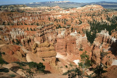Bryce Canyon National Park. This was shot in Bryce Canyon National Park of Utah in July of 2009 Stock Images