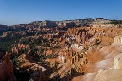 Bryce Canyon National Park. View of the fantastical colours and formations of the Bryce Canyon National Park Stock Photo