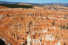 Bryce Canyon National Park. The fantastic hoodoos in the main amphitheater of Bryce Canyon National Park Stock Photo