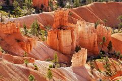 Bryce Canyon National Park, attraction naturelle Utah photo stock