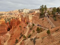 Bryce Canyon National Park, attraction naturelle Utah images stock