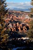 Bryce Canyon National Park coberto de neve Foto de Stock