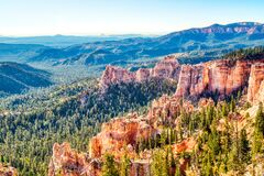 Free Bryce Canyon National Park During A Sunny Day, View From Farview Point, Utah Stock Photos - 185510343