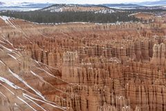 Bryce Canyon National Park stock afbeelding