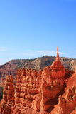 Bryce Canyon National Park. Eroded red rocks displaying intriguing shapes and layers at Bryce canyon national park, Utah Stock Photography
