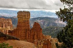 Bryce Canyon National Park, EUA fotos de stock