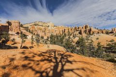 Bryce Canyon National Park Hoodoo Valley View Stock Photo