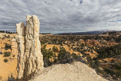 Bryce Canyon National Park Hoodoo View Stock Photography