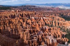 Bryce Canyon National Park - The Hoodoos Stock Images