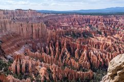 Bryce Canyon National Park - The Hoodoos. The best architect... is Nature Royalty Free Stock Photos