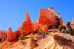 Bryce Canyon National Park hoodoos Stock Photo