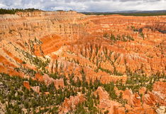 Bryce Canyon National Park i vinter, Utah Royaltyfria Foton