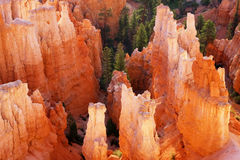 Bryce Canyon National Park - Inspiration Point Royalty Free Stock Photography