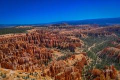 Bryce Canyon National Park ist ein Nationalpark, der in südwestlichem Utah in den Vereinigten Staaten gelegen ist dieses ist nich stockbild