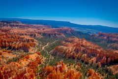Bryce Canyon National Park ist ein Nationalpark, der in südwestlichem Utah in den Vereinigten Staaten gelegen ist dieses ist nich stockfotos