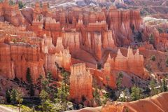 Bryce Canyon National Park, Natural Attraction Utah royalty free stock images