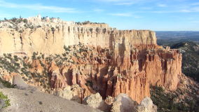 Bryce Canyon National Park Panning Shot stock video footage