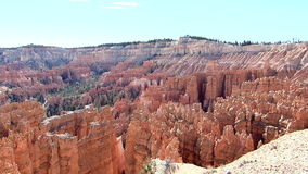 Bryce Canyon National Park Panning Shot stock video