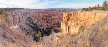 Bryce Canyon National Park Panorama stock afbeeldingen