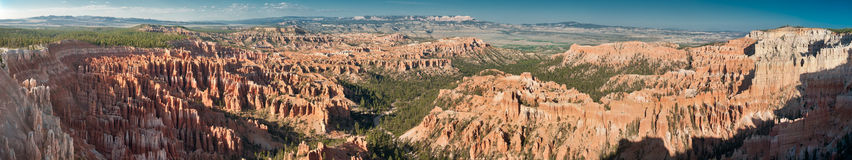 Bryce Canyon National Park. Panoramic view of Bryce Canyon National Park, Utah, USA Royalty Free Stock Photo