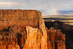 Bryce Canyon National Park Rainbow Royalty Free Stock Image