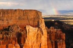 Bryce Canyon National Park Rainbow Royalty Free Stock Image
