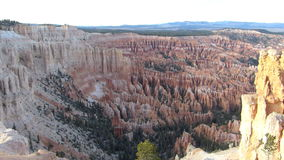 Bryce Canyon National Park Shot stock footage