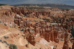 Bryce Canyon National Park - slingor Arkivbild