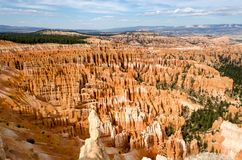 Bryce Canyon National Park. Stone formations and hoodoos at Bryce Canyon National Park Royalty Free Stock Image