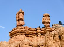 Bryce Canyon National Park. Stone formations and hoodoos at Bryce Canyon National Park Royalty Free Stock Photography