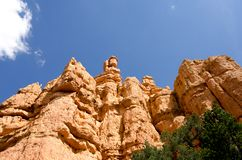 Bryce Canyon National Park. Stone formations and hoodoos at Bryce Canyon National Park Royalty Free Stock Images