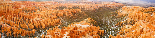 Bryce Canyon National Park in Utah. Royalty Free Stock Photo