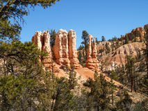 Bryce Canyon National Park Utah, Förenta staterna arkivbild